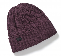 Gill Cable Knit Beanie - Fig