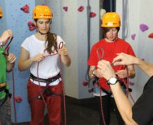 Climbing instruction