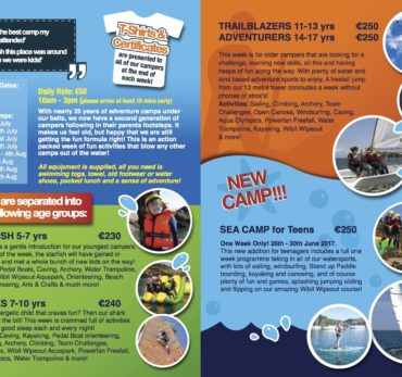 Adventure Camps 2017