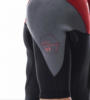 Jobe Perth Shorty 3/2 Red CLEARANCE